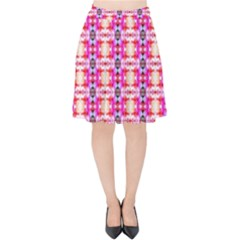 Petit Ix Velvet High Waist Skirt by mopin