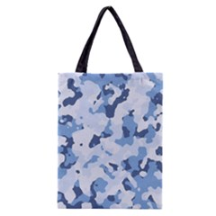 Standard Light Blue Camouflage Army Military Classic Tote Bag