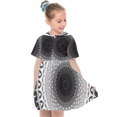 Mandala Calming Coloring Page Kids  Sailor Dress by Pakrebo