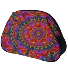 Kaleidoscope Pattern Ornament Full Print Accessory Pouch (big)