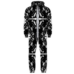 Kaleidoscope Mandala Art Hooded Jumpsuit (men)