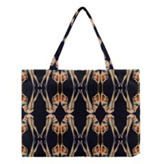 Kaleidoscope Symmetry Pattern Girls Medium Tote Bag by Pakrebo