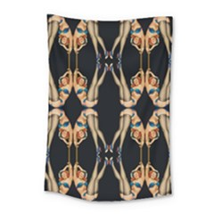 Kaleidoscope Symmetry Pattern Girls Small Tapestry