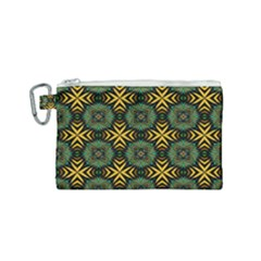 Kaleidoscope Pattern Seamless Canvas Cosmetic Bag (small) by Pakrebo