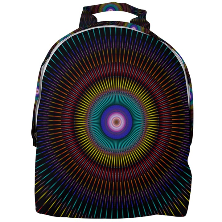 Artskop Kaleidoscope Pattern Mini Full Print Backpack