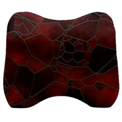Mosaic Glass Glass Mosaic Colorful Velour Head Support Cushion