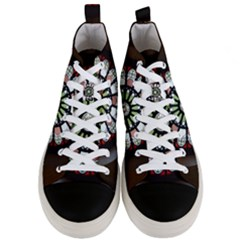 Color Light Glass Men s Mid Top Canvas Sneakers