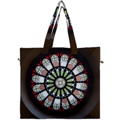 Color Light Glass Canvas Travel Bag