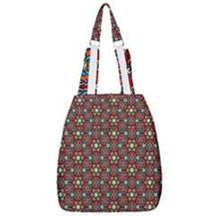 Pattern Stained Glass Church Center Zip Backpack