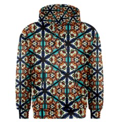 Church Window Stained Glass Texture Men s Pullover Hoodie
