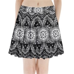 Mandala Calming Coloring Page Pleated Mini Skirt by Pakrebo