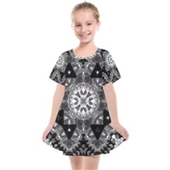 Mandala Calming Coloring Page Kids  Smock Dress by Pakrebo