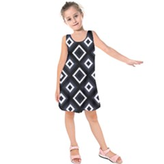 Native American Pattern Kids  Sleeveless Dress
