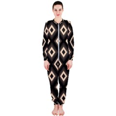Native American Pattern Onepiece Jumpsuit (ladies)