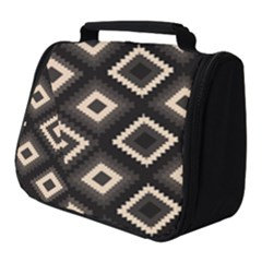 Native American Pattern Full Print Travel Pouch (small)