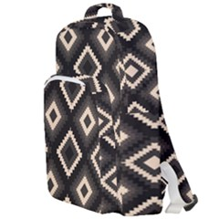 Native American Pattern Double Compartment Backpack