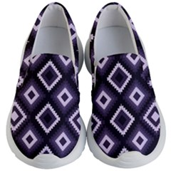 Native American Pattern Kids  Lightweight Slip Ons by Valentinaart