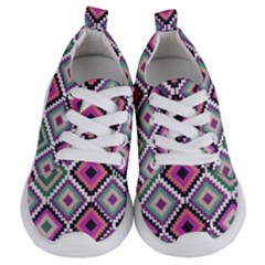 Native American Pattern Kids  Lightweight Sports Shoes
