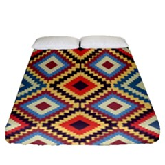 Native American Pattern Fitted Sheet (queen Size)