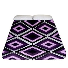 Native American Pattern Fitted Sheet (king Size)