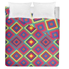 Native American Pattern Duvet Cover Double Side (queen Size)