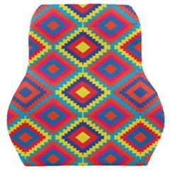 Native American Pattern Car Seat Back Cushion  by Valentinaart