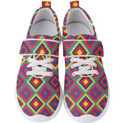 Native American Pattern Men s Velcro Strap Shoes by Valentinaart