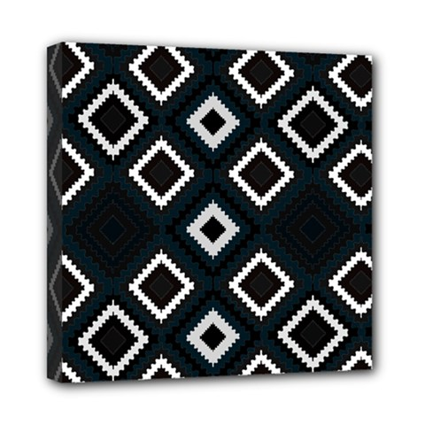 Native American Pattern Mini Canvas 8  X 8  (stretched)