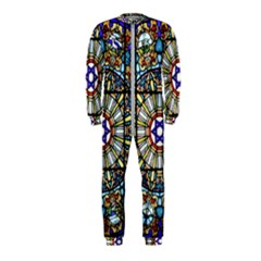 Vitrage Stained Glass Church Window Onepiece Jumpsuit (kids)