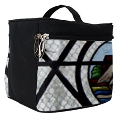 Window Image Stained Glass Make Up Travel Bag (small) by Pakrebo