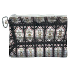 Window Image Stained Glass Canvas Cosmetic Bag (xl)