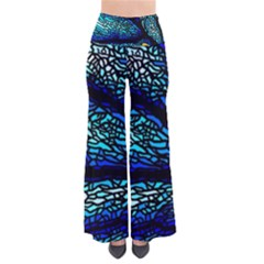 Sea Fans Diving Coral Stained Glass So Vintage Palazzo Pants