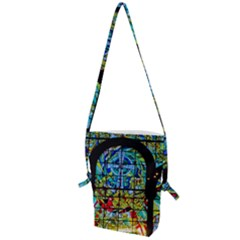 Church Church Window Window Folding Shoulder Bag