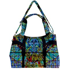Church Church Window Window Double Compartment Shoulder Bag