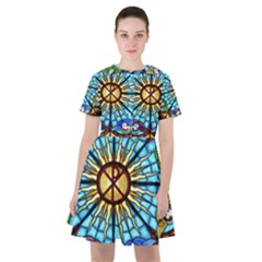Church Window Stained Glass Church Sailor Dress