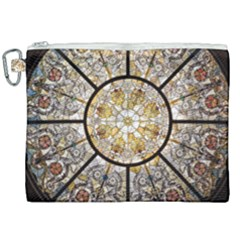 Stained Glass Window Glass Ceiling Canvas Cosmetic Bag (xxl)