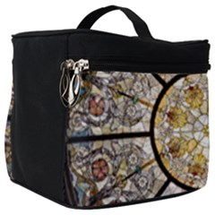 Stained Glass Window Glass Ceiling Make Up Travel Bag (big)