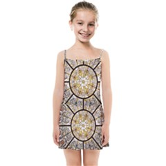 Stained Glass Window Glass Ceiling Kids  Summer Sun Dress