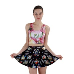 Stained Glass Sainte Chapelle Gothic Mini Skirt