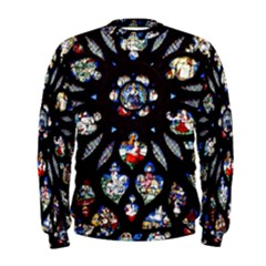 Stained Glass Sainte Chapelle Gothic Men s Sweatshirt