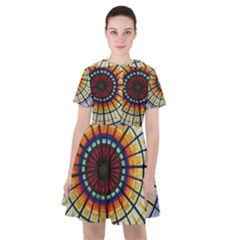 Background Stained Glass Window Sailor Dress