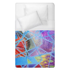 Wallpaper Stained Glass Duvet Cover (single Size)