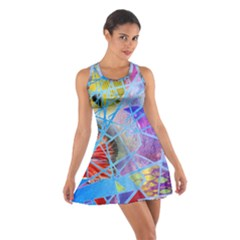 Wallpaper Stained Glass Cotton Racerback Dress