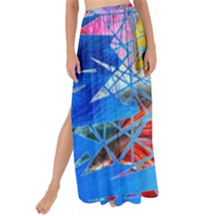 Wallpaper Stained Glass Maxi Chiffon Tie Up Sarong
