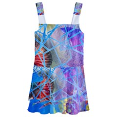 Wallpaper Stained Glass Kids  Layered Skirt Swimsuit