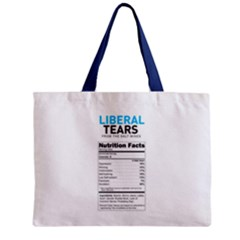 Liberal Tears  Funny With Supplement Facts Custom Colors Zipper Mini Tote Bag by snek