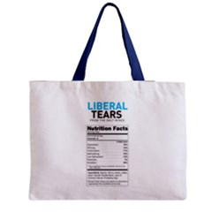 Liberal Tears  Funny With Supplement Facts Custom Colors Medium Tote Bag by snek