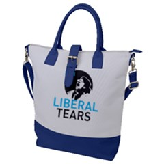 Liberal Tears  Funny With Supplement Facts Custom Colors Buckle Top Tote Bag by snek