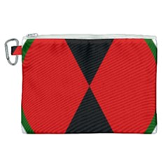 United States Army 7th Infantry Division Insignia Canvas Cosmetic Bag (xl) by abbeyz71