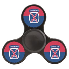 Flag Of United States Army 10th Mountain Division Finger Spinner by abbeyz71
